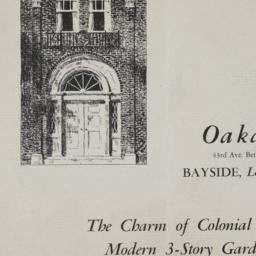 Oakdale Hall, 43 Avenue And...