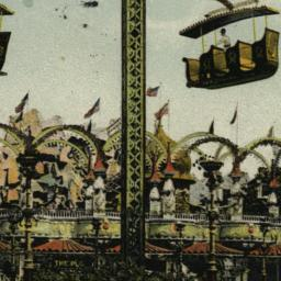 Aerial Swings, Luna Park, C...