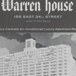 Warren House, 155 E. 34 Street