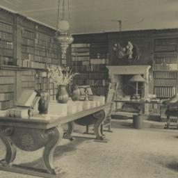 Library, looking North East...