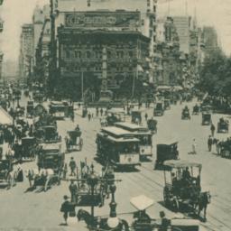 Broadway and 5th Avenue, Ne...