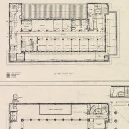Second floor plan. First fl...