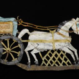 Horse And Chariot Rod Puppet