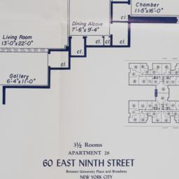 60 E. 9 Street, Apartment 28