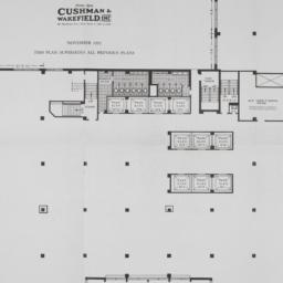 99 Park Avenue, 2nd Floor Plan