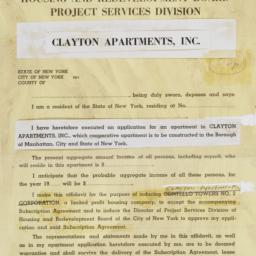 Clayton Apartments, Inc., L...