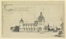 Competitive Design for the Missouri Building, World's Fair. Isaac S. Taylor, Arch't