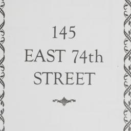145 East 74th Street