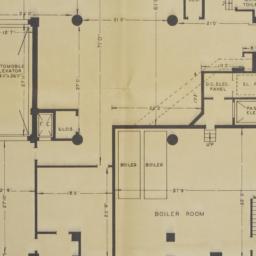 17-23 W. 60 Street, Plan Of...