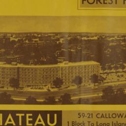 The     Chateau, 59-21 Call...