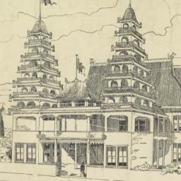 Chinese Building. Midway Pl...