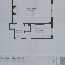 108 E. 91 Street, Apartment D