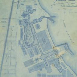 Map of Jackson Park, showin...