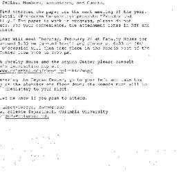 Announcements, 2005-02-24. ...