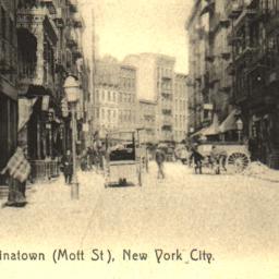 Chinatown (Mott St), New Yo...