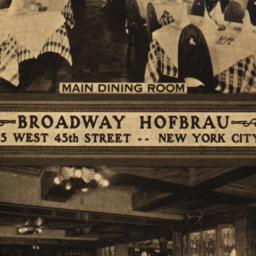 Broadway Hofbrau Main Dinin...