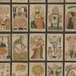 Tarot deck with Italian suits