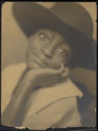 Harrison, Frances Marion, portrait, circa 1921 : photograph