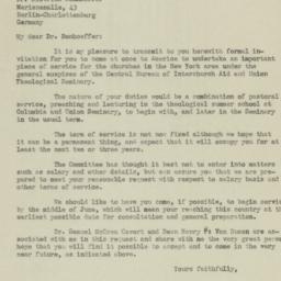 Copy of letter from Henry S...