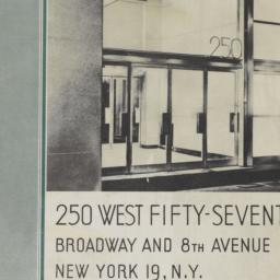 Fisk Building, 250 W. 57 St...
