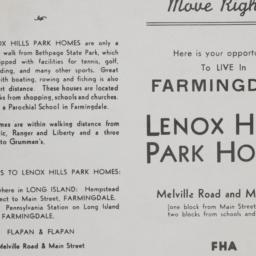 Lenox Hills Park Homes, Mel...