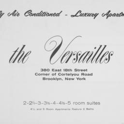 The     Versailles, 380 E. ...