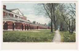9187. Path Along East Range, U of Va, Charlottesville, Va