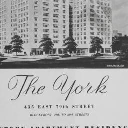 The     York, 435 E. 79 Street