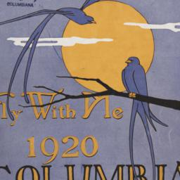 Fly With Me', 1920 Columbia...