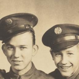 [Two Young Men in Uniforms]
