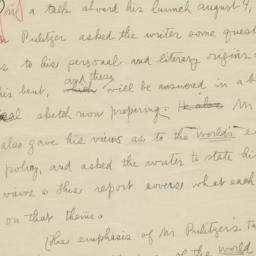 Manuscript Report On A Worl...