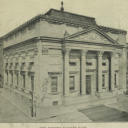 The     Bowery Savings Bank...