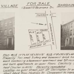 For sale : Village bargains...