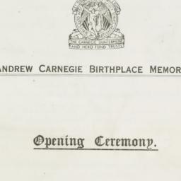 Opening Ceremony Program fo...