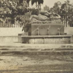 God Pan Statue Col. Univ
