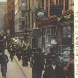Nassau Street from Liberty ...