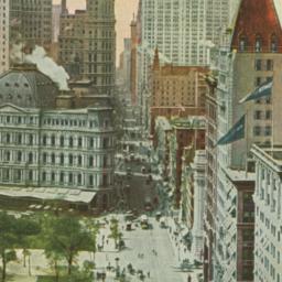 Broadway, Downtown, New York.
