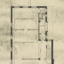 First floor plan. Rivington...