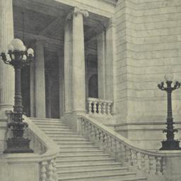 Stairs from the rotunda: Rh...