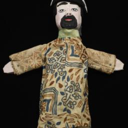 Bearded Male Hand Puppet Wi...