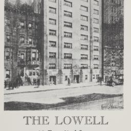 The     Lowell, 28 E. 63 St...