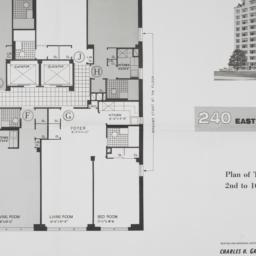 240 E. 46 Street, Plan Of T...