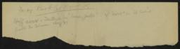 For the Book of Words, undated : autograph manuscript notes