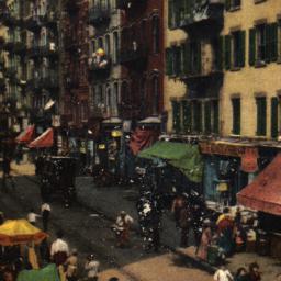 Street Scene of the Ghetto,...