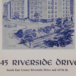 345 Riverside Drive