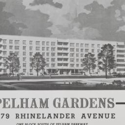 Pelham Gardens, 1579 Rhinel...