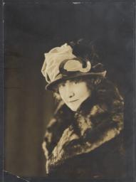 Sanborn, Gertrude, friend of J.A. Rogers, undated : photograph
