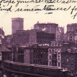 Curve on Elevated Railroad,...