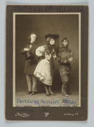 Three Cast Members of Isle of Illusia, Columbia Varsity Show