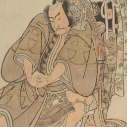 Actors Nakamura Nakazō I an...